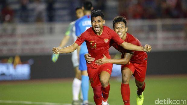 Menang 2-0 atas Singapura membuat Indonesia menjaga peluang besar untuk lolos ke semifinal cabang sepakbola SEA  Games 2019