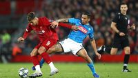 Liverpool Vs Napoli Berakhir 1-1