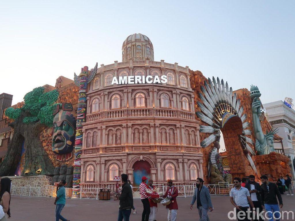 Dubai Global Village, Wisata Belanja Dunia dalam Sehari