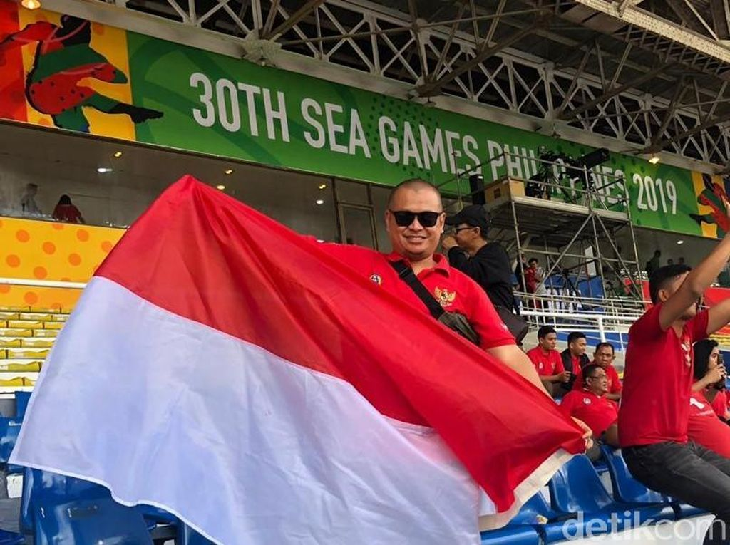 Warga Indonesia di Manila, Ayo Dukung Timnas U-22!