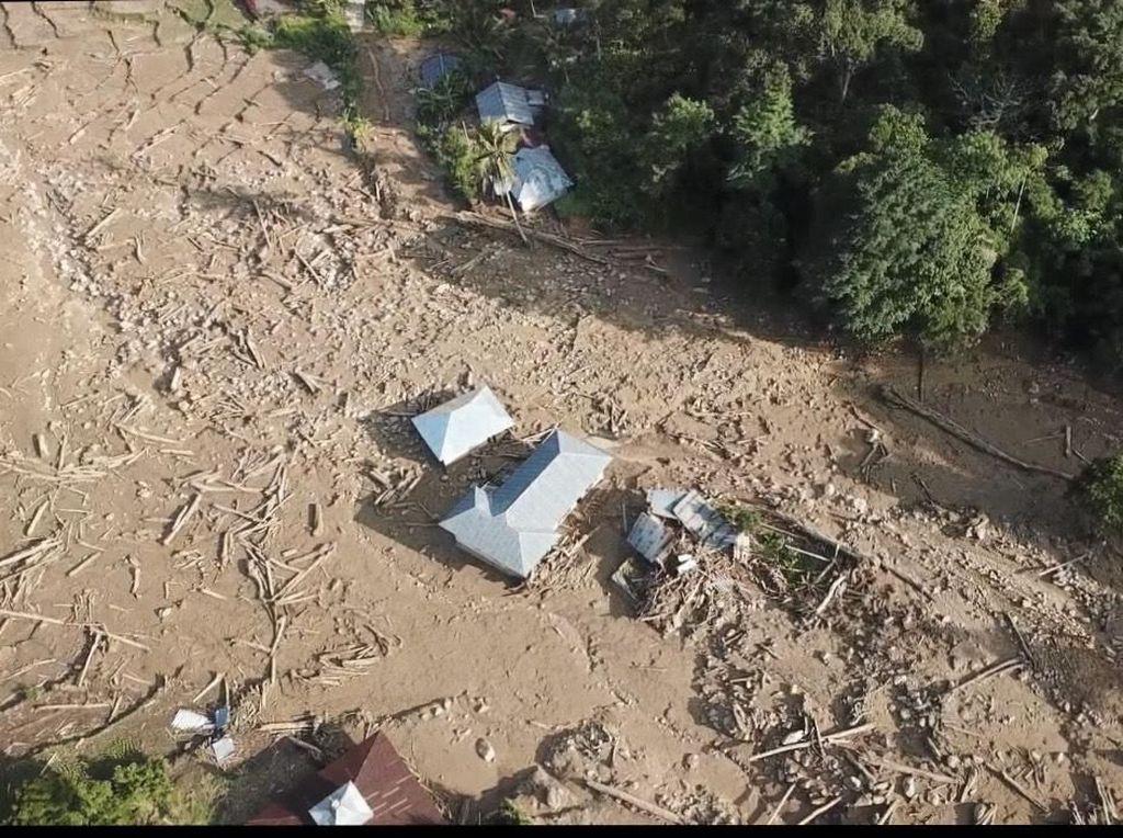 Penampakan Kerusakan Akibat Banjir Bandang di Solok Selatan Sumbar
