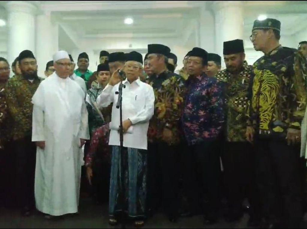 Maruf Bertemu 36 Ormas Islam, Sepakat Hindari Narasi Pecah Belah