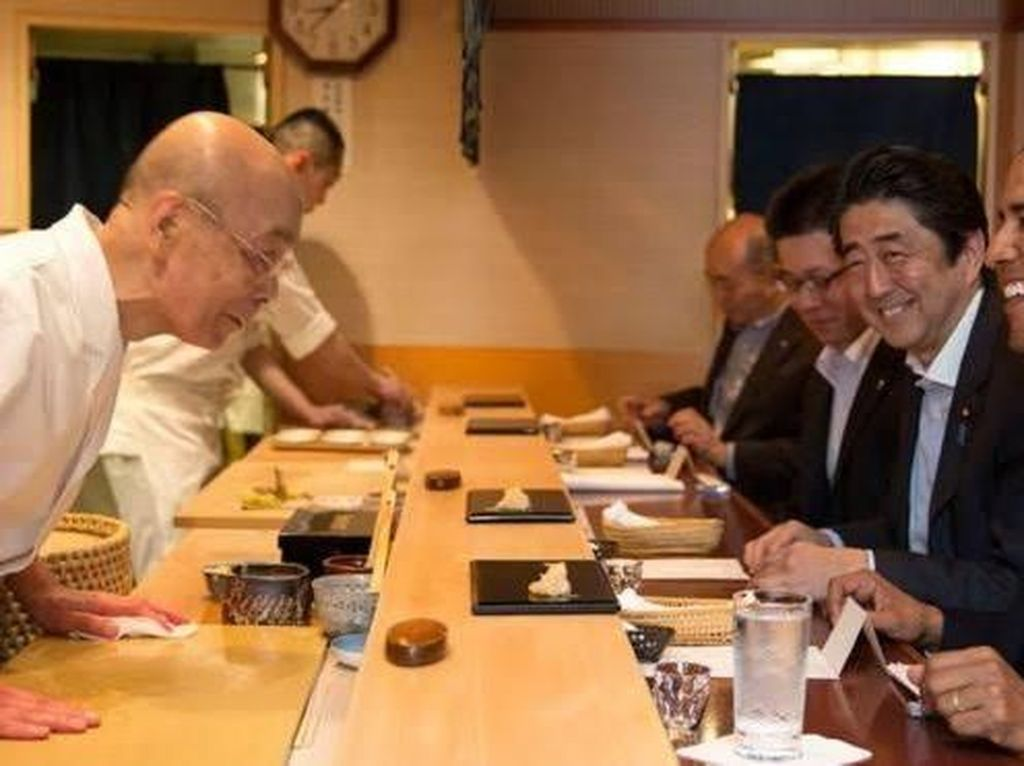 5 Fakta Resto Sushi Sukiyabashi Jiro yang Dicoret dari Michelin Guide