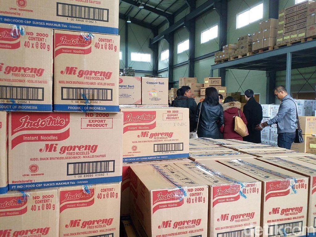 Mengintip Gudang Aneka Produk Asal RI di Korea