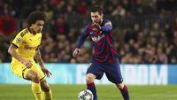 Suarez-Messi Antar Barcelona Ungguli Dortmund di Babak Pertama
