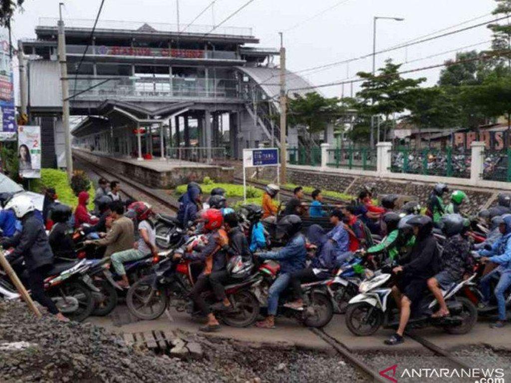 Underpass Stasiun Cibitung Diprediksi Selesai Tahun 2022