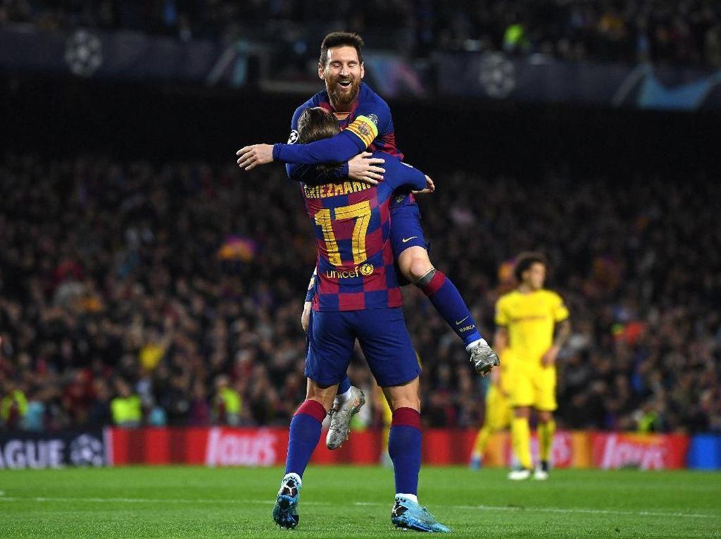 Messi Sudah Beri Griezmann Assist, Jangan Ada Gosip Lagi, Ya!