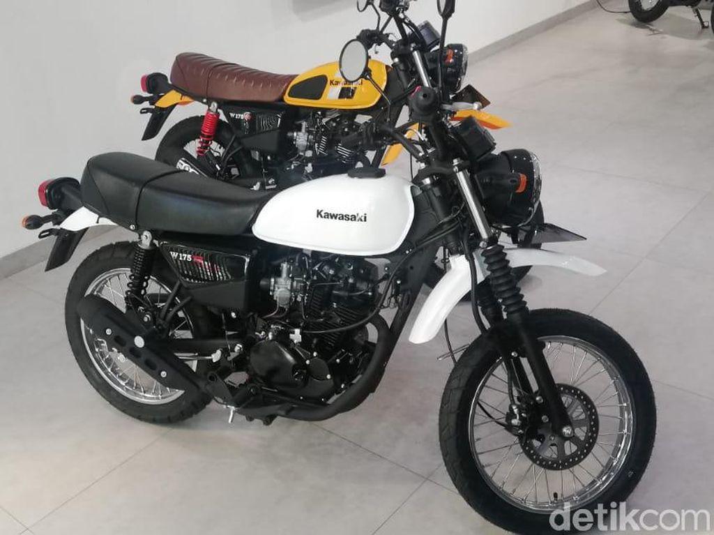 Motor Petualang Kawasaki W175 TR, Spesifikasi dan Harga
