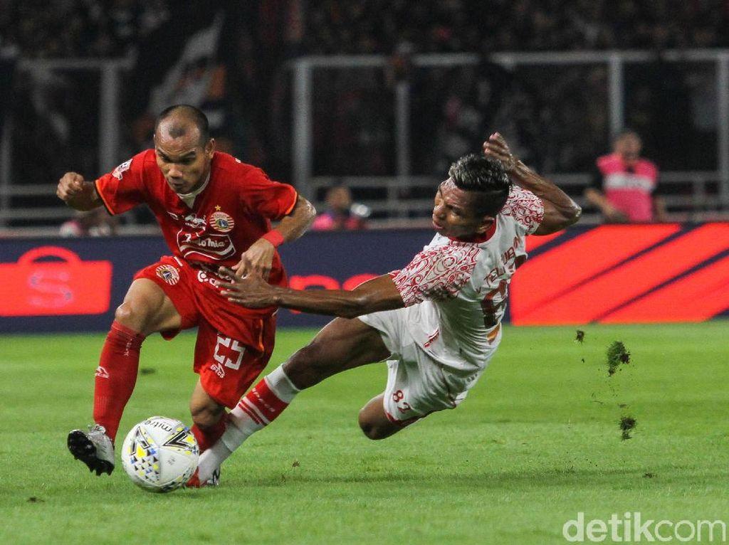 Rayakan Ulang Tahun, Persija Kalahkan Persipura 1-0