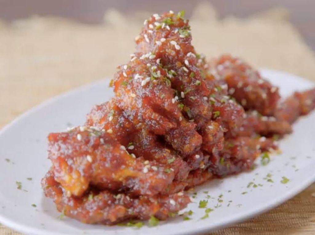 Resep Ayam :Chicken Wings Sambal Bajak