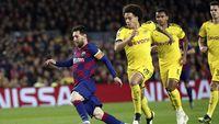Dortmund, Korban ke-34 Messi di Liga Champions