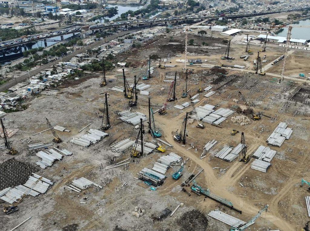 Penampakan Terkini Pembangunan Stadion BMW