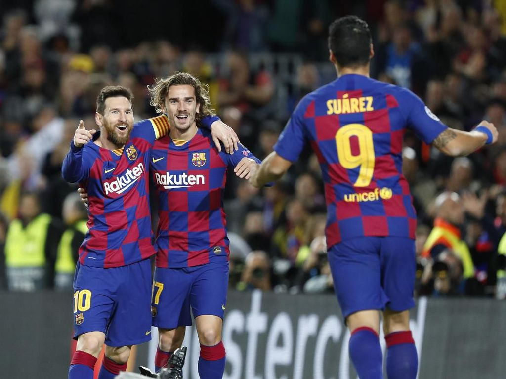 Suarez: Aku dan Messi Tak Ada Masalah dengan Griezmann