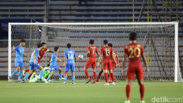 Indonesia berhasil mempertahankan keunggulan 2-0 meski Singapura memiliki peluang berbahaya