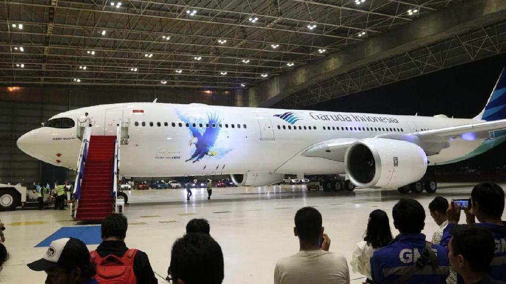 Ini Penampakan Pesawat Baru Garuda Airbus A330-900 NEO
