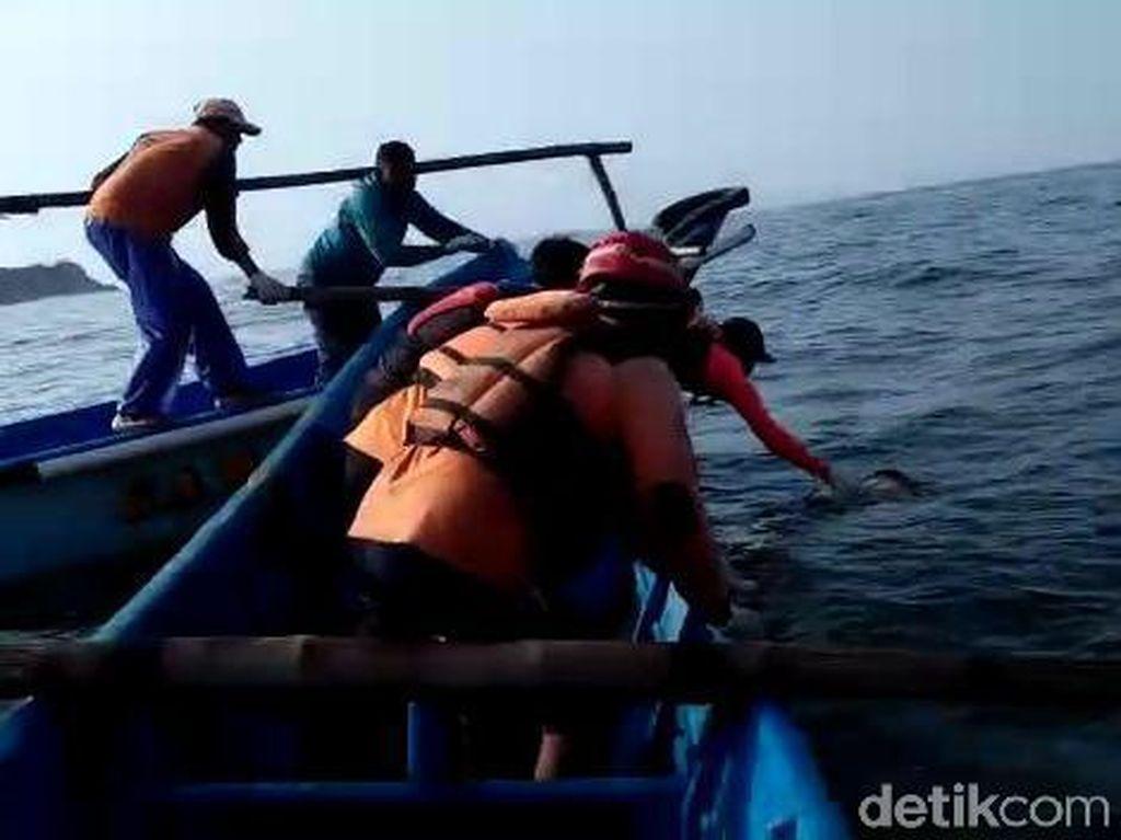 Seluruh Korban Kapal Terbalik di Pantai Gunungkidul Telah Ditemukan
