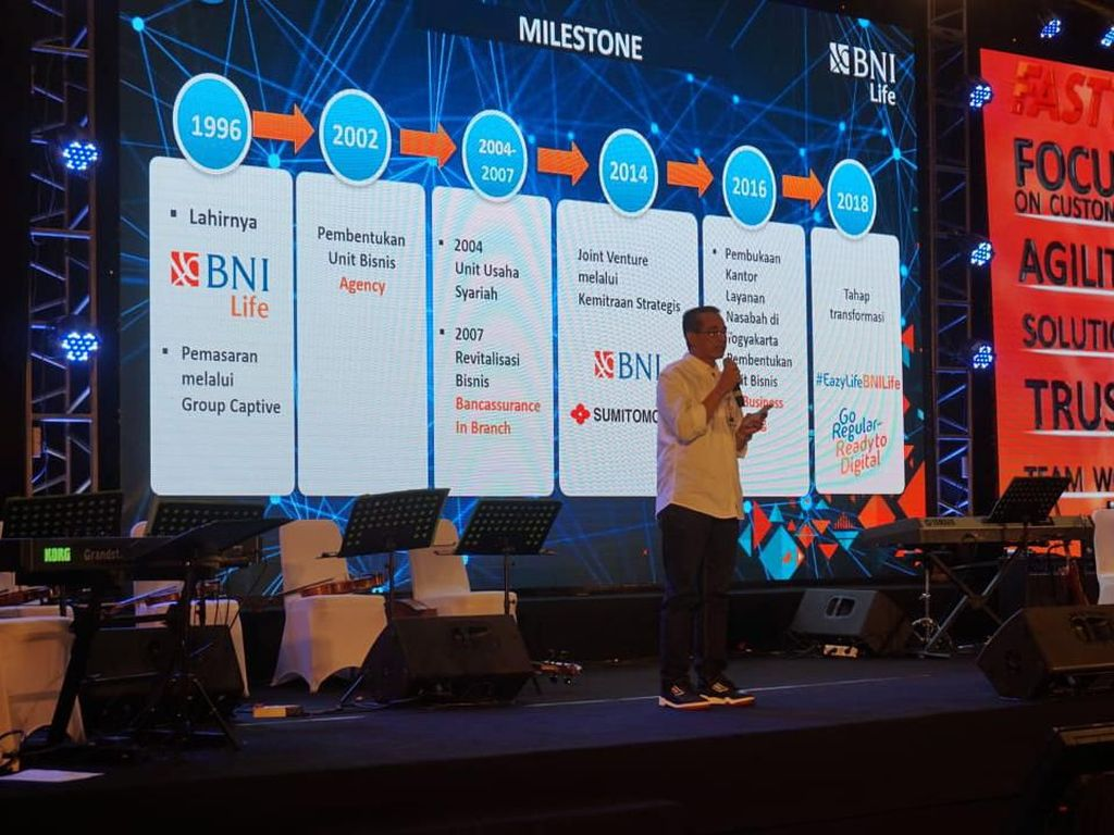 HUT ke-23, BNI Life Luncurkan Mobile Apps dan Platform e-Commerce