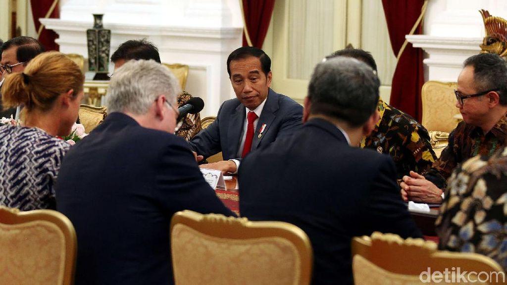 Jokowi Bahas Peluang Kerja Sama Ekonomi dengan Delegasi Uni Eropa