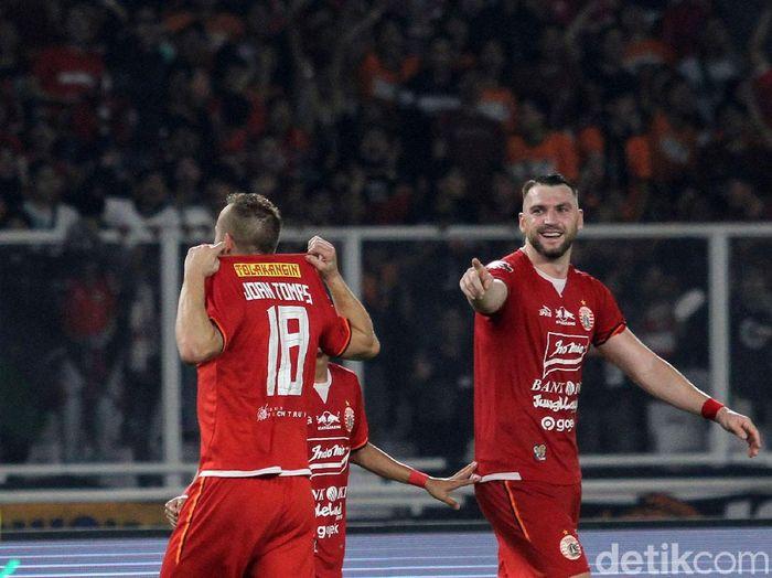 Persija Jakarta ingin menutup ekspresi dominan di Liga 1 2019 dengan kemenangan. (Foto: Rifkianto Nugroho/detikcom)