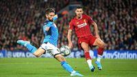 Liverpool Tertinggal 0-1 dari Napoli di Babak I