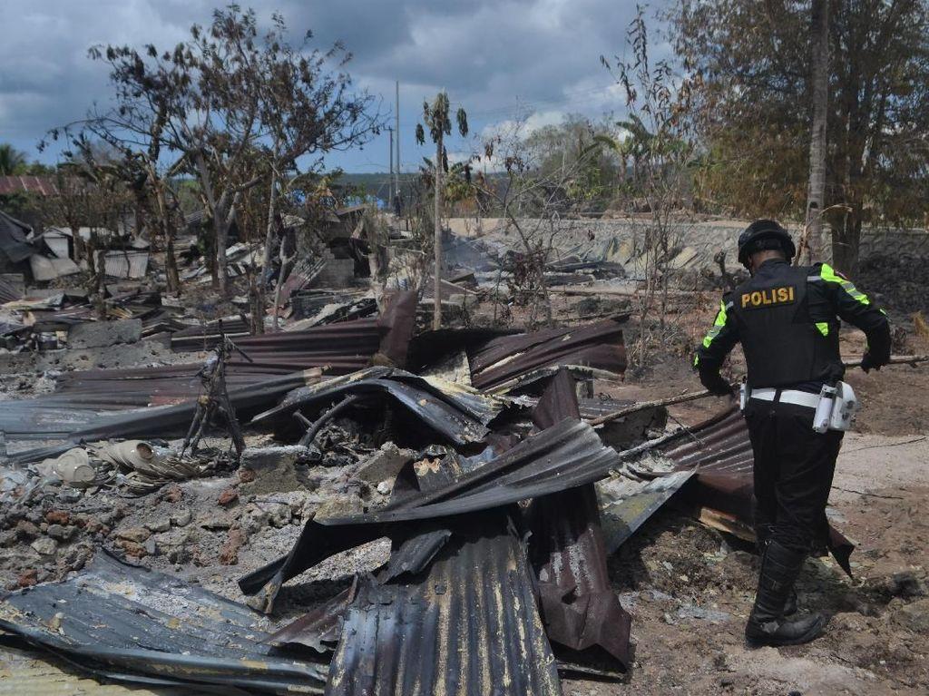 25 Rumah di Buton Dibakar Akibat Ribut 2 Pemuda