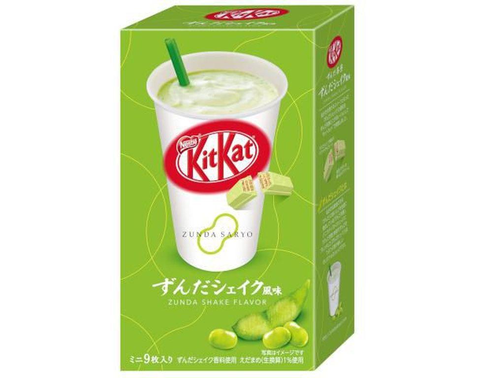 Yummy! KitKat Kini Hadir dalam Rasa Milkshake Edamame