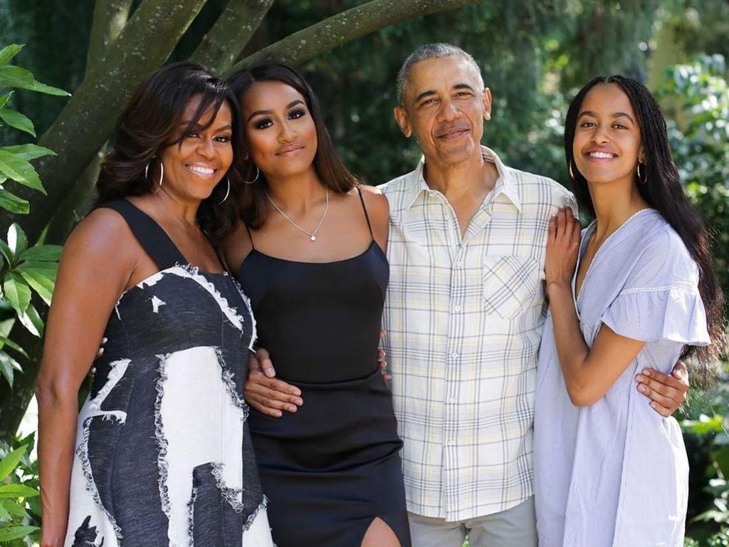 Terbongkar! Barack Obama Izinkan Kekasih Putrinya Tinggal di Rumah saat Karantina