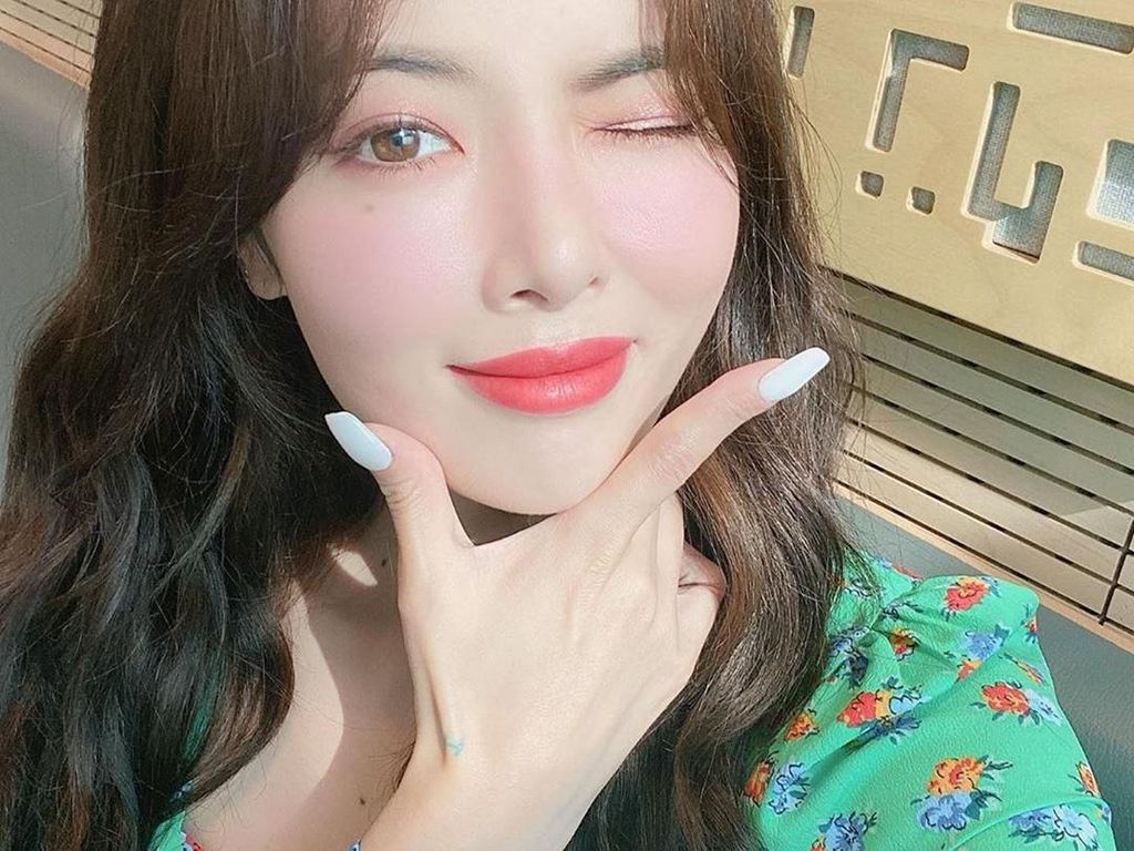 Potret Ceria Hyuna, Idol KPop yang Ternyata Tutupi Depresi & Serangan Panik