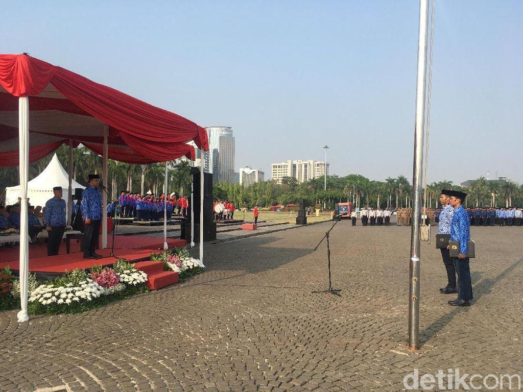 Peringatan Hari Korpri ke-48, Anies Ingin Pegawai Laksanakan Pesan Jokowi