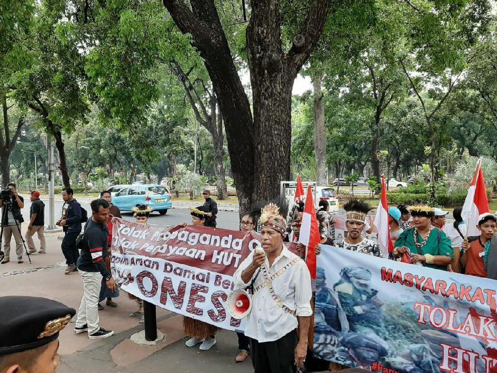 Demo Tolak HUT OPM, Rakyat Papua Minta Pemerintah Jaga Papua