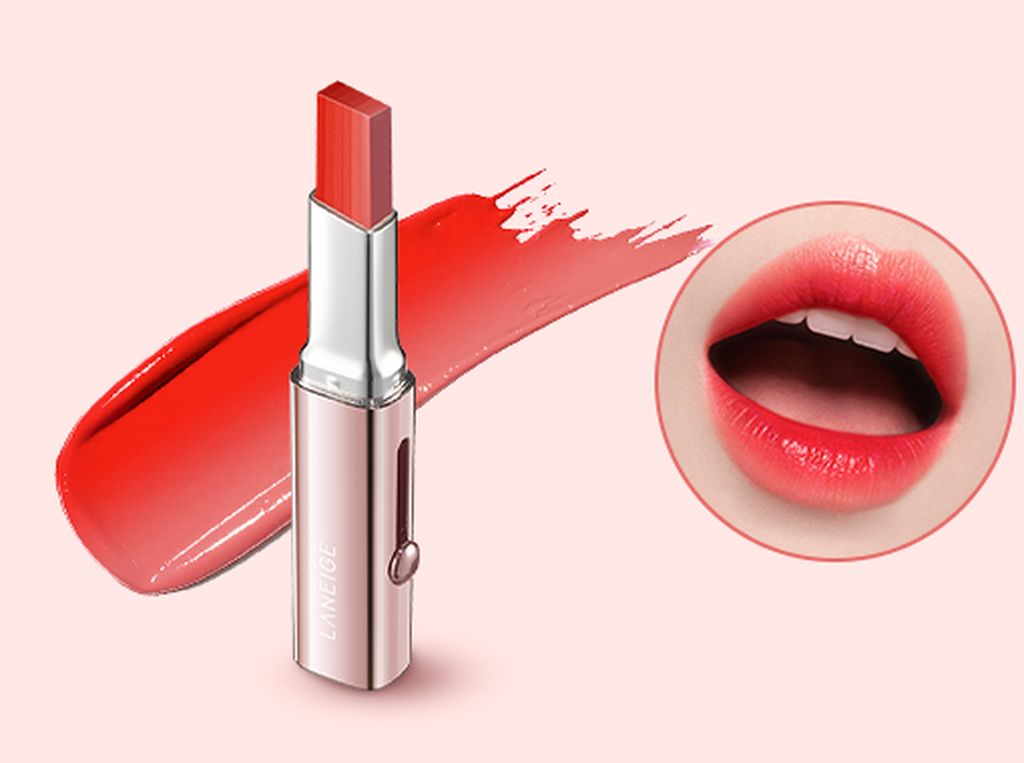 Laneige Rilis Lipstik Unik, Ada 6 Warna Dalam 1 Tabung