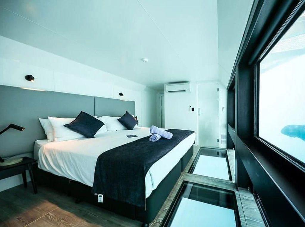 Hotel Ini Tawarkan Penginapan Underwater nan Cantik