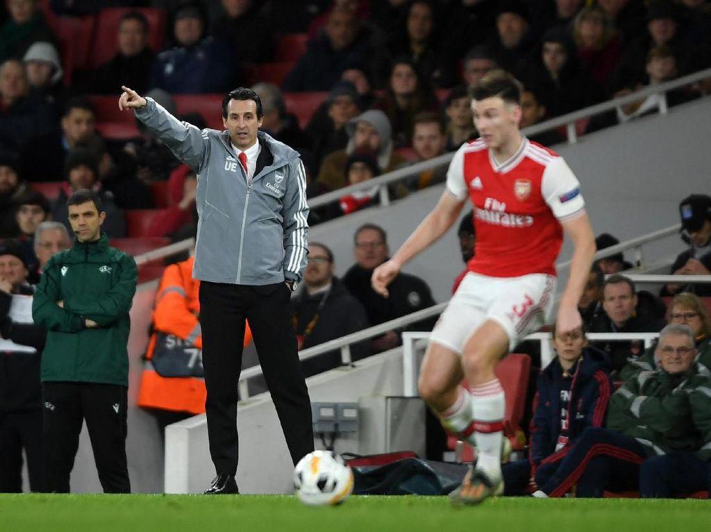 Arsenal Tumbang, Emery: Masih Ada Laga Terakhir untuk Lolos