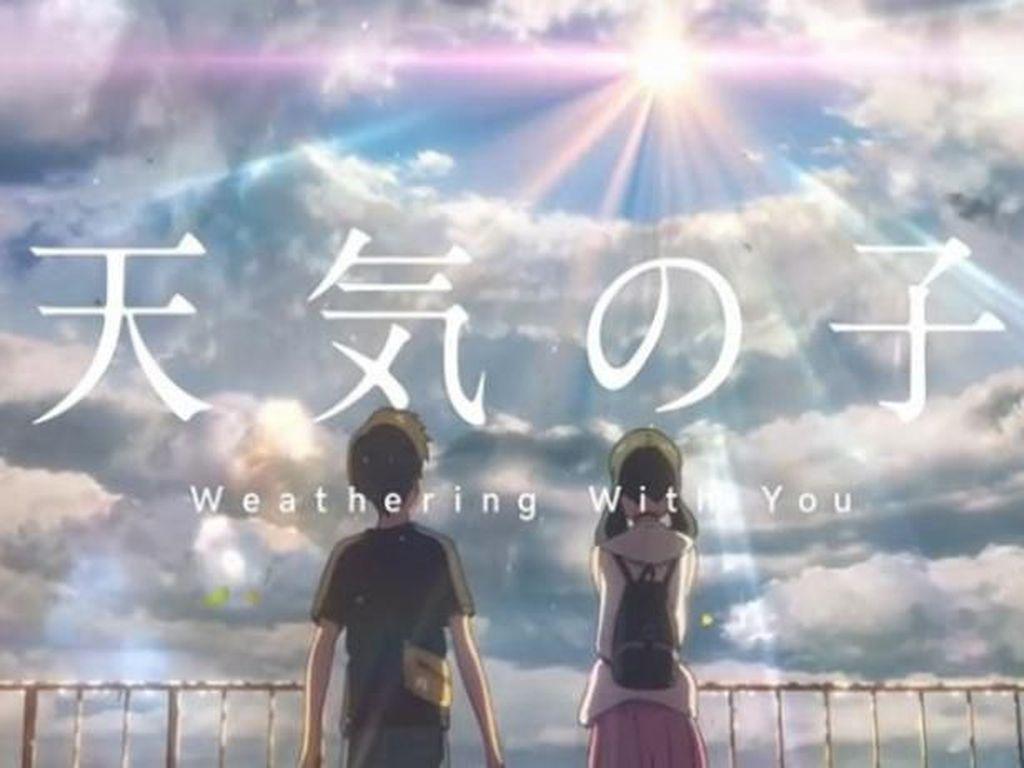Novel Weathering with You Rajai Nomor Satu di Jepang Tahun Ini