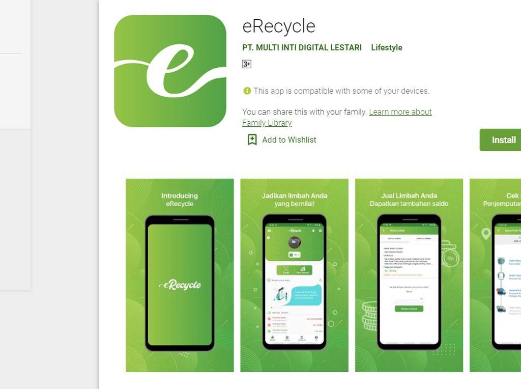 e-Recycle, Rintisan Pengolah Sampah Berbasis Aplikasi Mobile