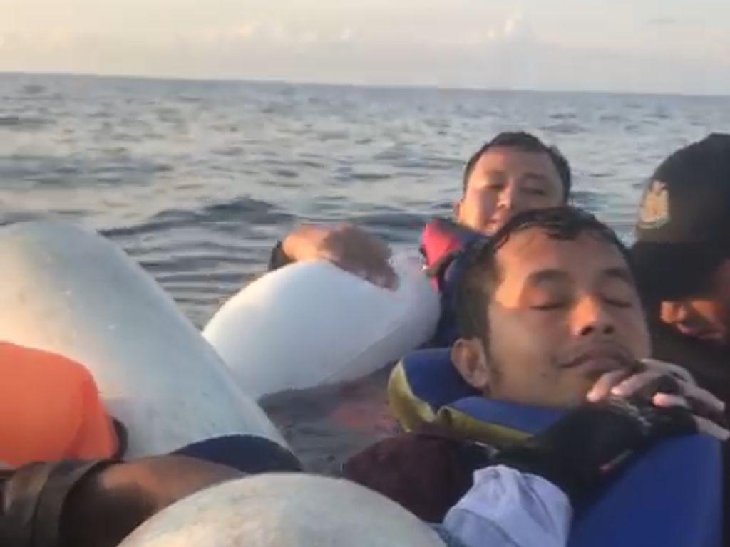 Video Perjuangan 12 Nelayan Terapung 48 Jam di Tengah Laut