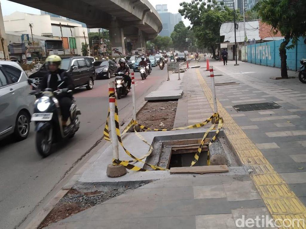 Dishub DKI Sebut Penutupan U-Turn Jl Satrio Bukan karena Jokowi Kena Macet