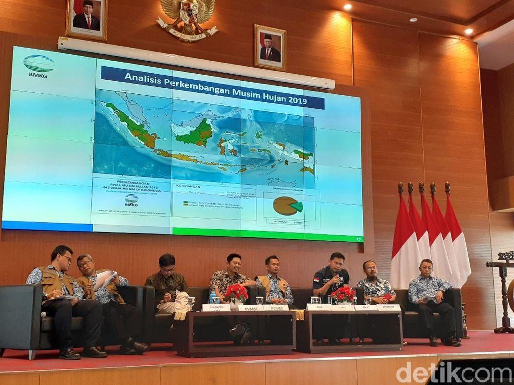 BMKG: Baru 16 Persen Wilayah Indonesia Memasuki Musim Hujan