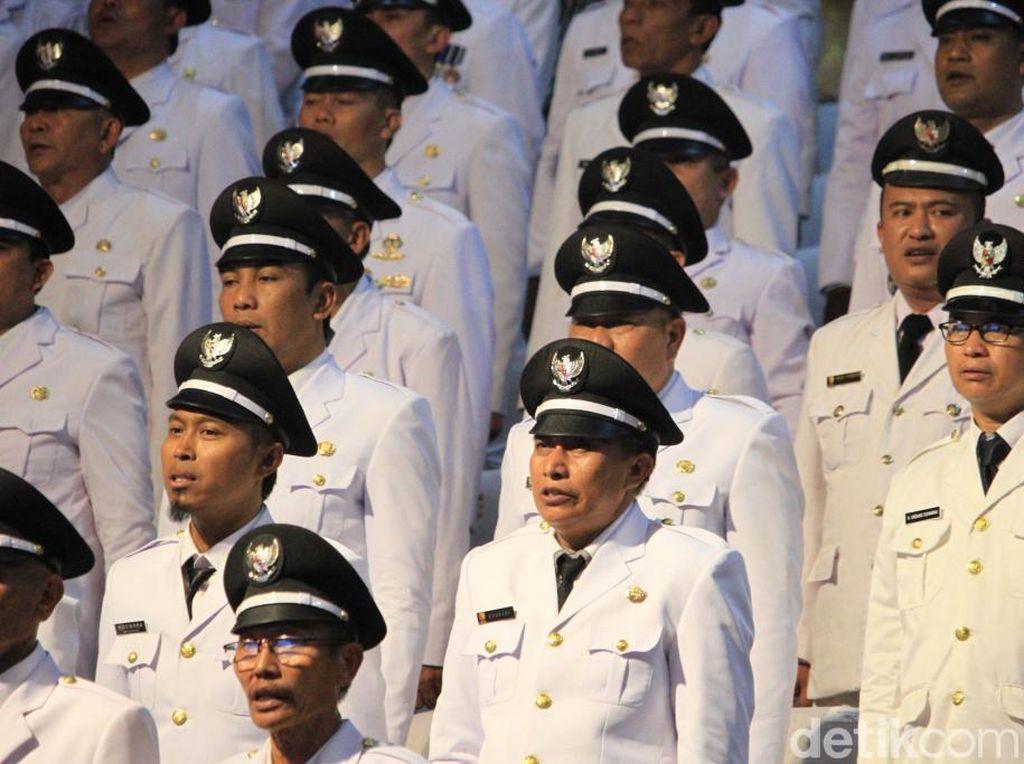 Sejarah, Pelantikan 199 Kades di Kabupaten Bandung Dilakukan Serentak