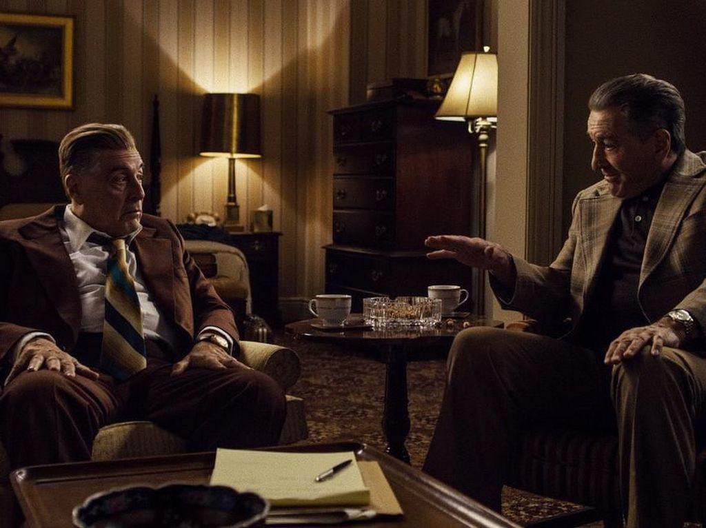 The Irishman Film Termahal di Nominasi Best Picture