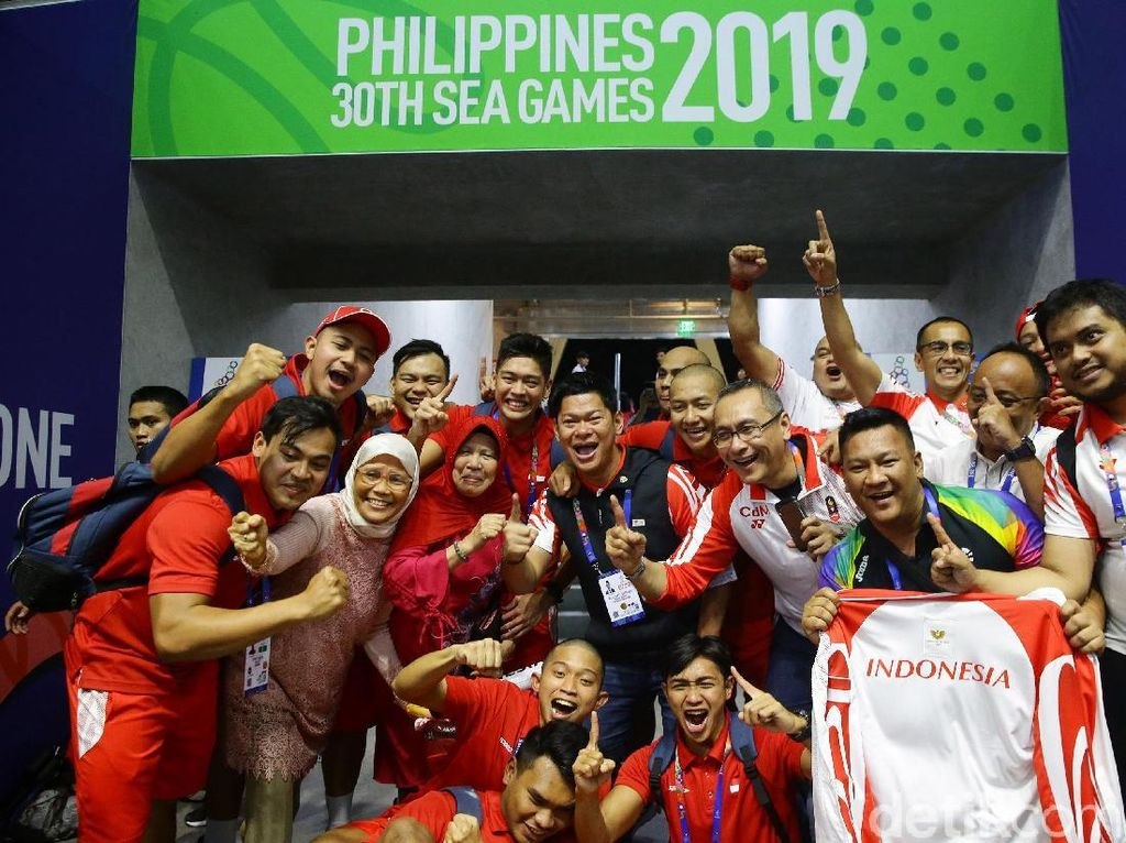 Haru-biru Timnas Polo Air Indonesia Usai Raih Emas SEA Games 2019