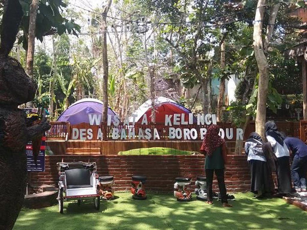 Foto: Belajar Bahasa Inggris Sambil Liburan Dekat Candi Borobudur