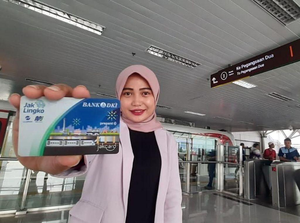 Bank DKI Siapkan Pembayaran Nontunai di LRT Jakarta
