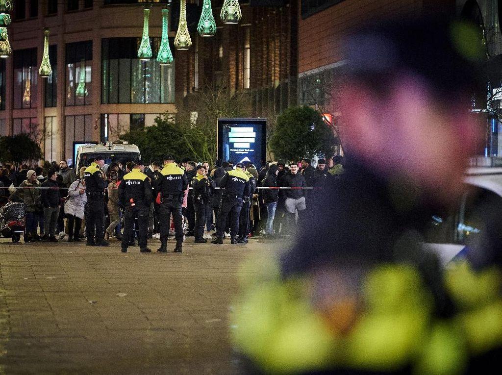 Pelaku Penikaman di Area Perbelanjaan Belanda Ditangkap
