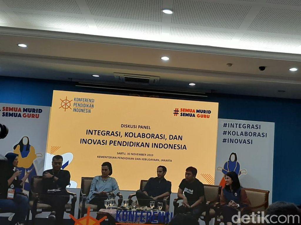 Ungkap Anggaran Nadiem, Sri Mulyani: Rp 200 T untuk Gaji Guru