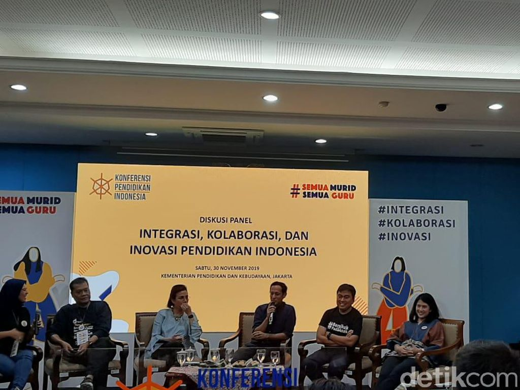 Sri Mulyani Kumpul Bareng Nadiem hingga Dian Sastro Bahas Pendidikan