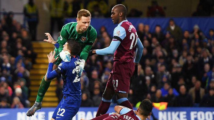 Chelsea kalah 1-0 dari West Ham United di Stamford Bridge (Foto: Mike Hewitt/Getty Images)