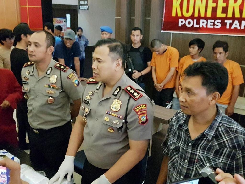 4 Kurir Narkoba Ditangkap di Kepri, 25 Kg Sabu Disita