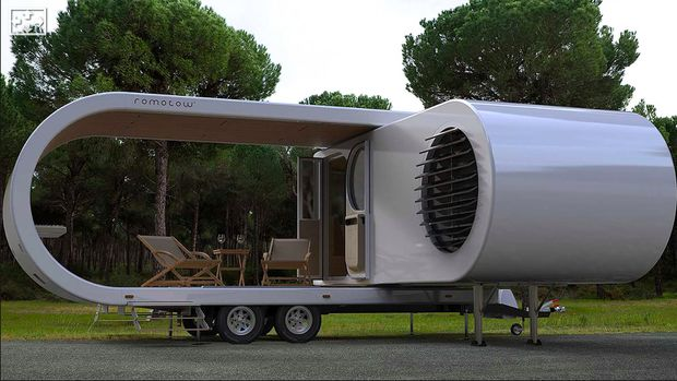 Mobil Caravan Romotov