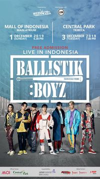 Ballistik Boyz live in Indonesia